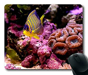 Undersea Fish With Colorful Coral Reef POP Masterpiece Limited Design Oblong Mouse Pad by Cases & Mousepads