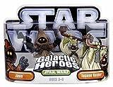 Hasbro 85395 Star Wars Galactic Heroes Mini-Figure 2 Pack - Jawa & Tusken Raider
