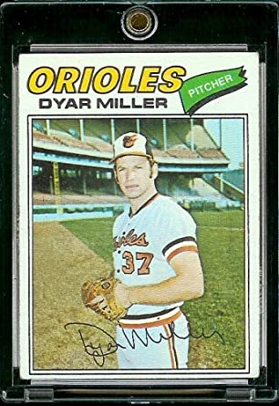Amazoncom 1977 Topps Baseball Card 77 Dyar Miller Mint