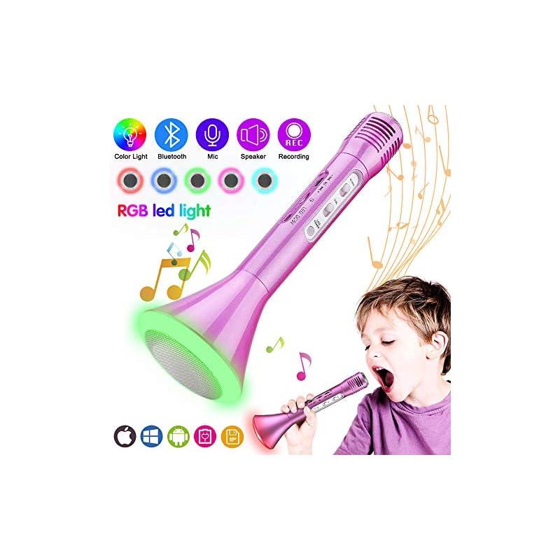 Kids Microphone, Wireless Portable Karao
