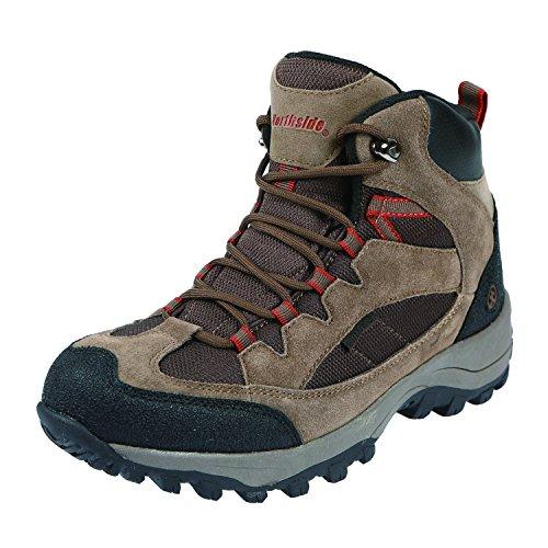 Northside Men's Montero Mid Waterproof Hiking Shoe, Medium Brown, 8.5 M US - Montero Leather