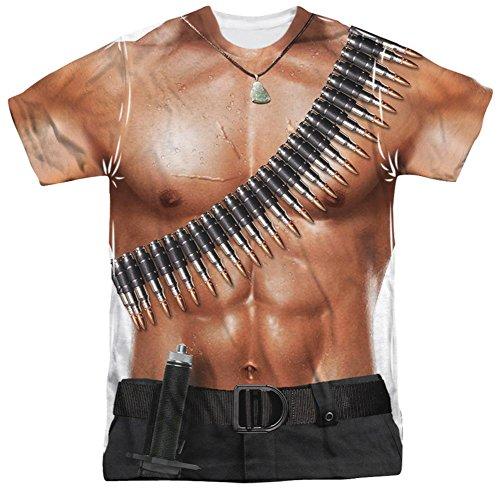 Rambo III - Rambo Costume T-Shirt Size L