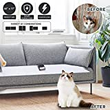 Upgraded Pet Scat Cat Mat,Multi Pieces Pet Training Mat for Dogs Cats, Dog Sofa Scram, Couch Protectors from Dogs Keep Dog Off Furniture Couch Pet Barrier for Off-Limit Areas, Indoor Scat Shock Mat