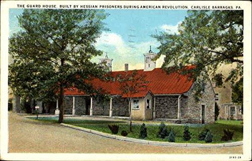 The Guard House Carlisle Barragks, Pennsylvania Original Vintage Postcard