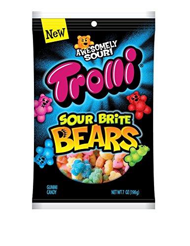 Trolli Sour Brite Bears Gummy Candy, 4.71 oz