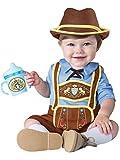 InCharacter Costumes Baby Boys' Little Lederhosen Costume, Blue/Brown, Small