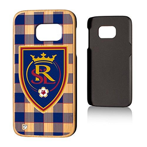 Keyscaper MLS Real Salt Lake Plaid Case for Galaxy S7, Wood by Keyscaper