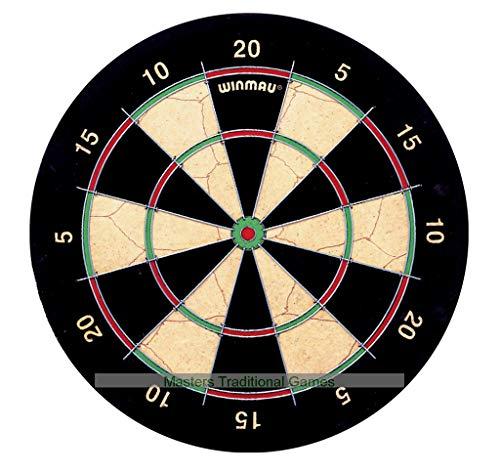 (Winmau East London Fives Darts Board (narrow trebles/doubles))