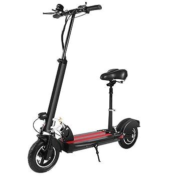 Oaicr Patinete Electrico Scooter Plegable con Sillin para ...