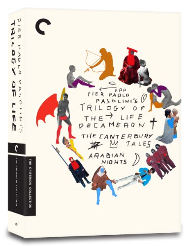 Trilogy of Life (The Decameron, The Canterbury Tales, Arabian Nights) (The Criterion Collection) by Criterion