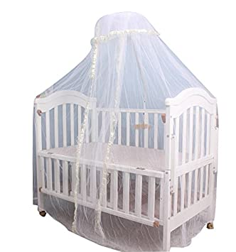 Baby Toddler Bed Crib Mosquito Netting Canopy Lace Curtain Dome Cot Mosquito Net Mosquito Bug Proof  sc 1 st  Amazon.com & Amazon.com : Baby Toddler Bed Crib Mosquito Netting Canopy Lace ...