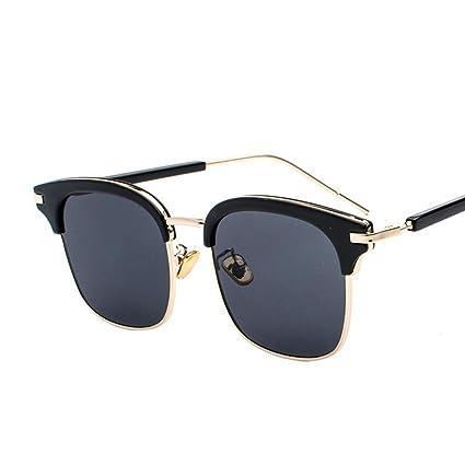 Axiba Gafas de Sol de Gafas de Sol señora Chao Mans Redonda ...