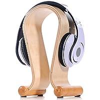 Gain BELKA White Birch Headphone Stand for Beats Headphones Wood Headset Habitat Universal Hanger for Sony Philips... occupation