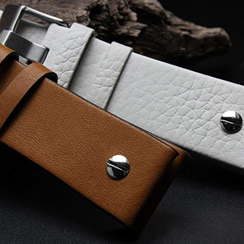 Choco&Man US Genuine Leather Watch Band Strap with Tool Fit for Men's Diesel Watches by Choco&Man US (Image #2)