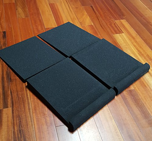 Studio Solutions High Density Studio Monitor Isolation Pads Pair For 8 Inch Monitors - Image 1