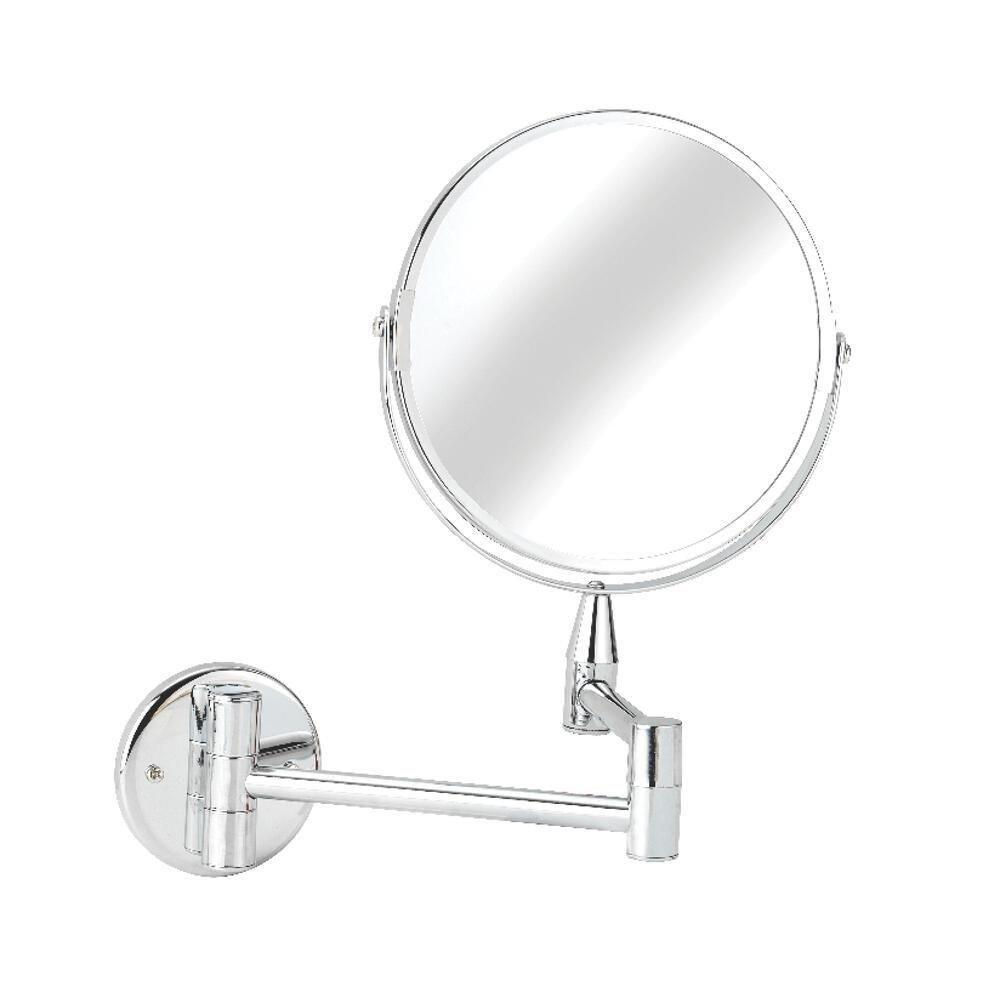 Croydex QA103041YW Round Magnifying Mirror, Small (Chrome): Amazon ...