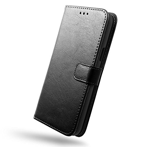 low priced ecb8d fcbf3 SLEO iPhone 8 Plus/ iPhone 7 Plus Case , SLEO Retro Vintage PU Leather  Wallet Flip Case Cover for iPhone 8 Plus/ iPhone 7 Plus (Verizon, AT&T  Sprint, ...