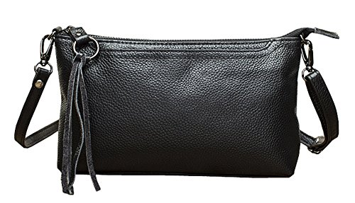 Shoulder Cross Body Leather Black Bags Designer SAIERLONG Blue Womens nqawRY6f