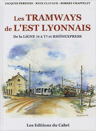 Lire un Les tramways de l'Est lyonnais : De la ligne 16 à T3 et Rhônexpress pdf ebook