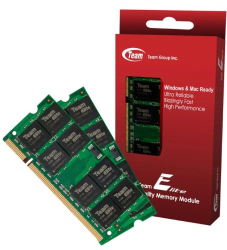 8GB (4GBx2) Team High Performance Memory RAM Upgrade For HP - Compaq Presario CQ71-305SG CQ71-306EI CQ71-306EW CQ71-307SZ Laptop. The Memory Kit comes with Life Time Warranty. by Team,