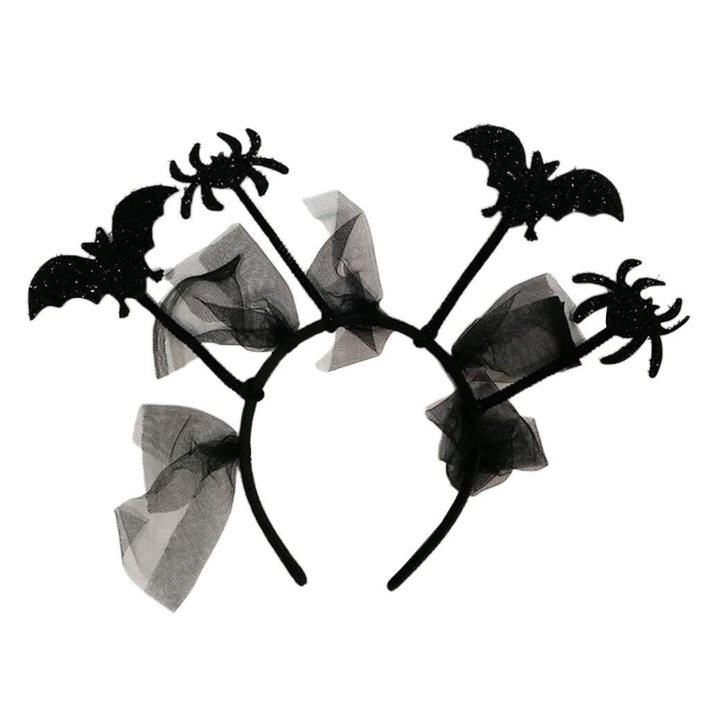 P Prettyia Leuchtende LED Haarband Stirnband Kopfband Halloween Weihnachten Festival Party Kost/üm Accessories f/ür Kinder und Erwachsene