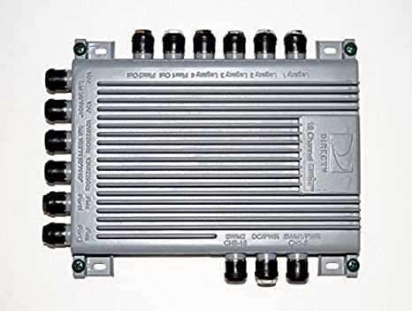 Amazon.com: DIRECTV SWM16 Single Wire Multi-Switch (16 Channel) (SWM