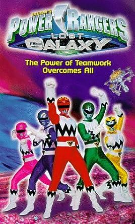 Power Rangers Lost Galaxy [USA] [VHS]: Amazon.es: Paul ...