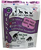 Aunt Jeni's Home Made Frozen Pet Food, Dog Food Goat Dinner, 20 lb.