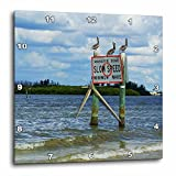 3dRose dpp_44850_1 3 Pelicans on Manatee Sign-Wall Clock, 10 by 10-Inch Review