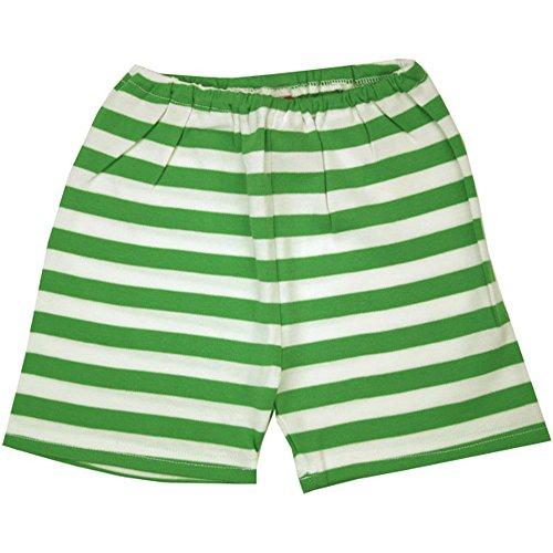Zutano Apple/White Stripe Shorts by Zutano