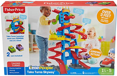 Fisher-Price Little People Take Turns Skyway JungleDealsBlog.com