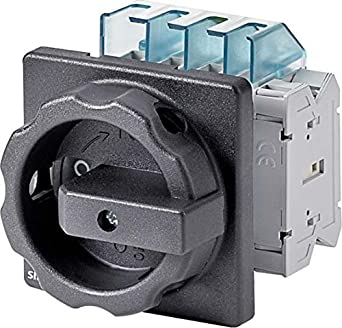 FURNAS ELECTRIC CO 3LD2154-1TP51 Disconnect Switch, 3P, Black