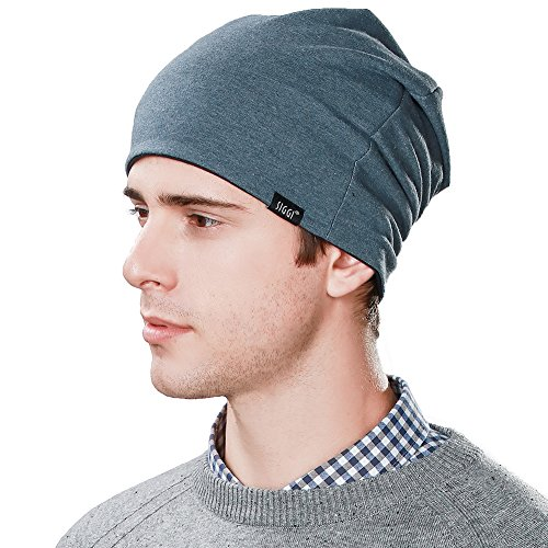 3d0e753a075 SIGGI Reversible Slouchy Beanie Chemo Sleep Cap Cancer Patient Hats for Men
