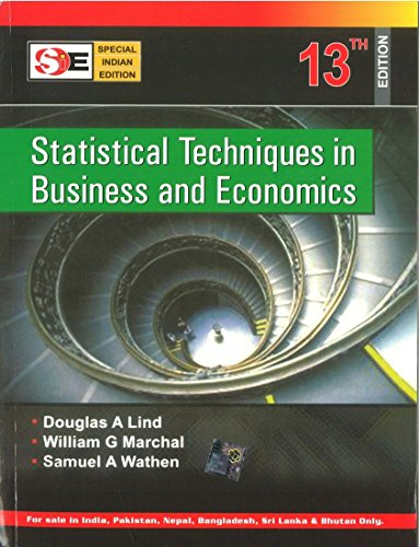 Statistical Techniques in Business and Economics - 13th Edition