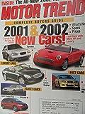 2001 Audi A8 / BMW 740iL / Cadillac Deville DTS / Lexus LS 430 / Mercedes Benz S500 / Hummer H2 / Nissan Frontier / Dodge Caravan / Honda Odyssey Road Test
