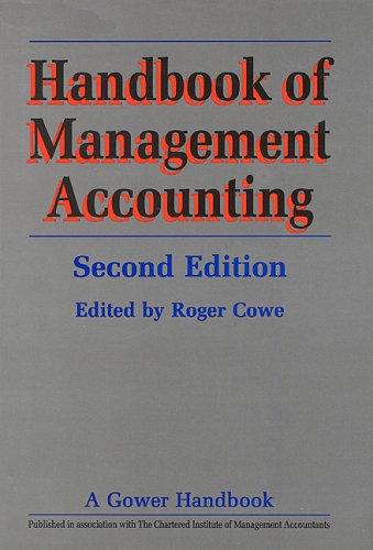 Handbook of Management Accounting (Gower Handbook) (Gower Handbook)