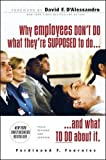 Why Employees Don't Do What They're Supposed To and What You Can Do About It (Management & Leadership)