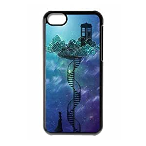 Custom High Quality WUCHAOGUI Phone case Doctor Who - Police Box Pattern Protective Case For iphone 5c iphone 5c - Case-16