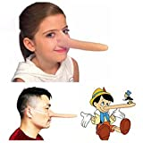 3pcs Halloween Latex Pinocchio Long Nose Witch Nose Cosplay Props