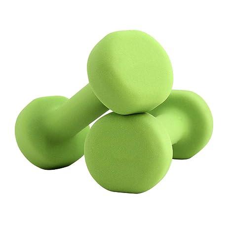 Sport YALING Mancuernas de Neopreno Mango Hexagonal Antideslizante Antideslizante para Hombres y Mujeres Toning Cardio y