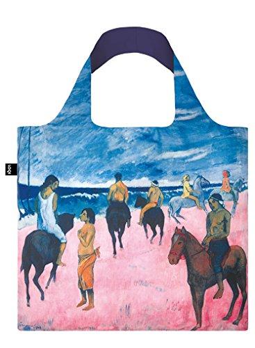 LOQI Horsemen on the Beach by Paul Gauguin Reusable Tote Bag