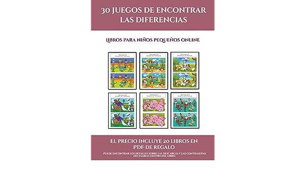 Libros para niños pequeños online 30 juegos de encontrar las ...