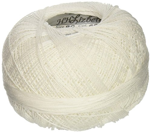 - Lizbeth Cordonnet Cotton Size 80, White
