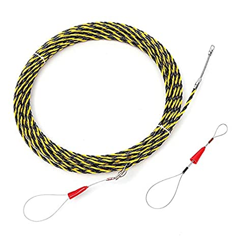 Fine Cable Puller Sonsan 20M 6Mm Spiral Cable Puller Conduit Snake Cable Wiring 101 Akebretraxxcnl
