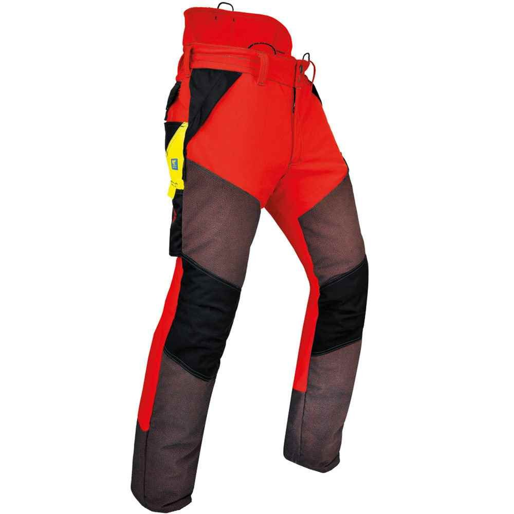 Pfanner Gladiator Extreme Chainsaw Protection Pants - Medium Red