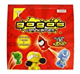 Gogo's Crazy Bones Series One 45 Pack (1 Gogo And 1 Sticker) Box