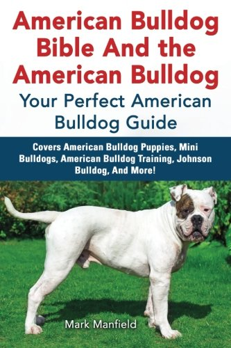 American Bulldog Bible And the American Bulldog: Your Perfect American Bulldog Guide Covers American Bulldog Puppies, Mini Bulldogs, American Bulldog Training, Johnson Bulldog, And More! ()