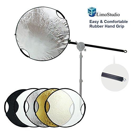 LimoStudio Handheld Collapsible Lighting Reflector