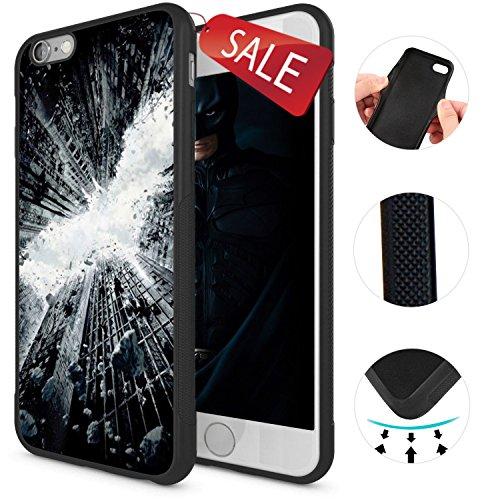 Onelee - Batman Soft Rubber iPhone 6 Case & Cover -Batman Logo TPU iPhone 6 Case - Black 10