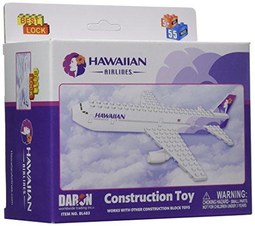 Hawaiian Airlines 55 Pc Construction Block Kit